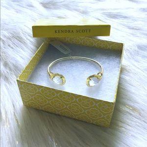 Kendra Scott Andy gold Slate stone bracelet ❤️